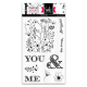 Tampons transparents - YOU AND ME