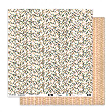 """Papier5- Collection """"SO'GARDENt"""""""" 30X30 - R/V"""