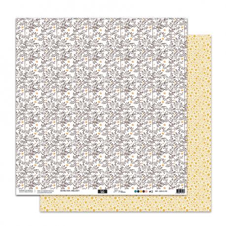 """Papier2- Collection """"SO'GARDENt"""""""" 30X30 - R/V"""