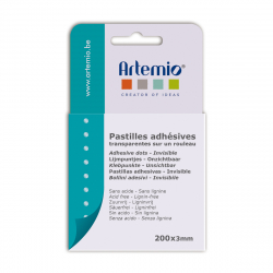 ARTEMIO PASTILLES ADHESIVES