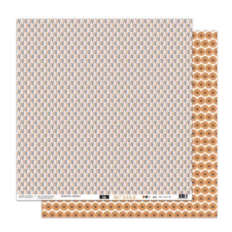 "Papier2- Collection ""SO'FOLK"" 30X30 - R/V"