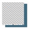 "Papier1- Collection ""SO'FOLK"" 30X30 - R/V"
