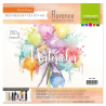 Florence • Papier aquarelle smooth 200g. 30,5x30,5cm 10pcs