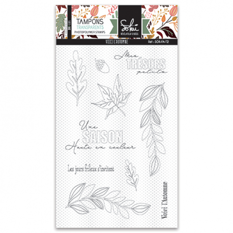 Tampons transparents - SO'FALL 'Voici l'automne'