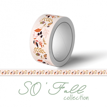 WASHI TAPE 'LES FEUILLAGES'