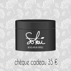 CHEQUE  CADEAU 35€