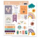 SO'BB - SOKAI - Planche Etiquettes à découper - format A5
