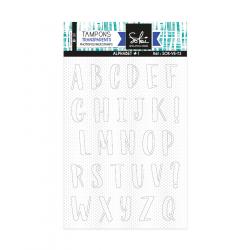 Tampons transparents - VOILA L'ETE 'Alphabet'