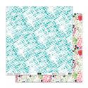 """Papier2 - Collection """"VOILA L'ETE"""" 30X30 - R/V"""