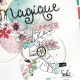 Tampons transparents - VOILA L'ETE 'Love Summer'