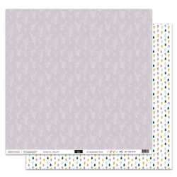 """Papier5 - Collection """"EN ATTENDANT L'HIVER"""" 30X30 - R/V"""