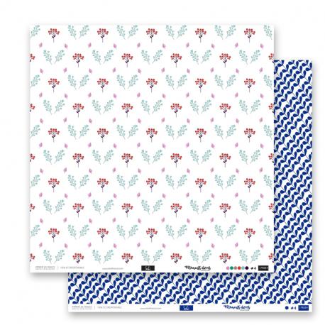 "Papier4 - Collection ""Moments Divers"""" 30X30 - RV"