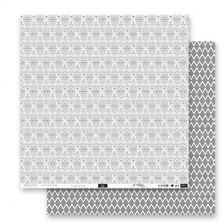 """Papier 4 - Collection """"SO'BASICS"""""""" 30X30 - RV"""